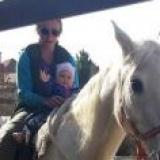Emka--naša najmladšia jazdkyňa